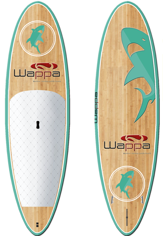 Wappa_Custom_Paddle_Board_Shark