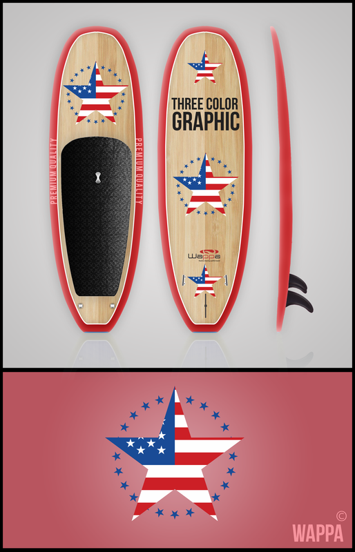 wappa_custom_paddle_board_stars_n_stripes