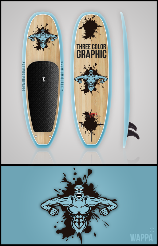 wappa_custom_paddle_board_three_color_graphics